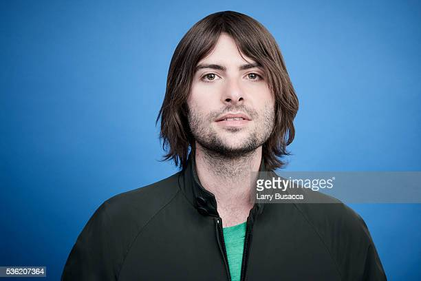 Director Robert Schwartzman poses for a portrait at the Tribeca Film Festival on April 15 2016 in New York City