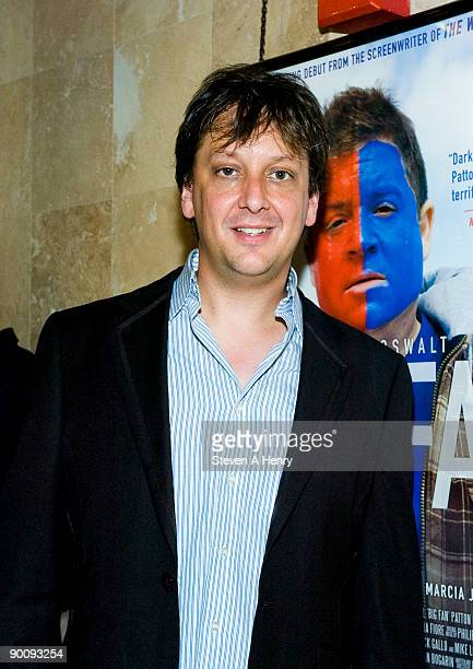 Director Robert Siegel attends the premiere after party of 'Big Fan' at Headquarters on August 25 2009 in New York City