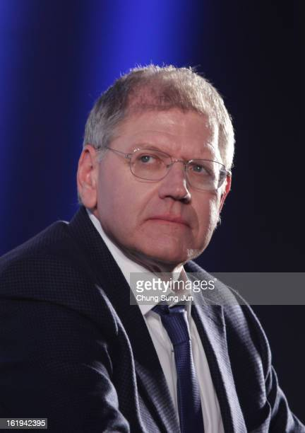 Director Robert Zemeckis attends during a press conference at Conrad hotel on February 18 2013 in Seoul South Korea Robert Zemeckis is visiting South...