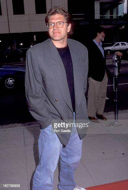 Director Robert Zemeckis attends the 'A League of Their Own' Beverly Hills Premiere on June 22 1992 at Academy Theatre in Beverly Hills California