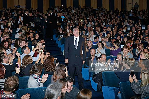Director Robert Zemeckis attends the 'Allied Allies' Paris Premiere at Cinema UGC Normandie on November 20 2016 in Paris France