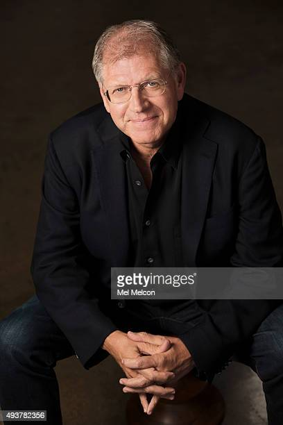 Director Robert Zemeckis of 'The Walk' is photographed for Los Angeles Times on September 21 2015 in Los Angeles California PUBLISHED IMAGE CREDIT...