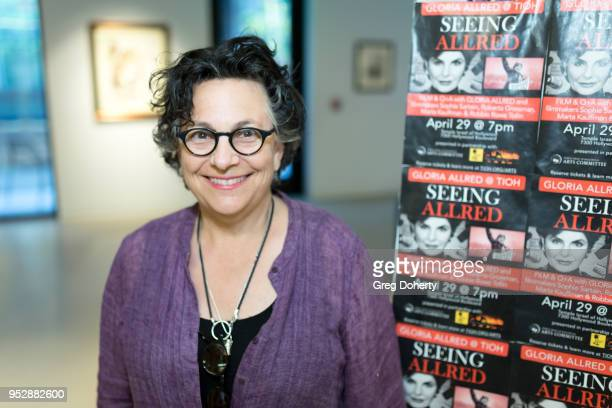 Director Roberta Grossman attends the screening of 'Seeing Allred' at the 2018 Los Angeles Jewish Film Festival on April 29 2018 in Hollywood...