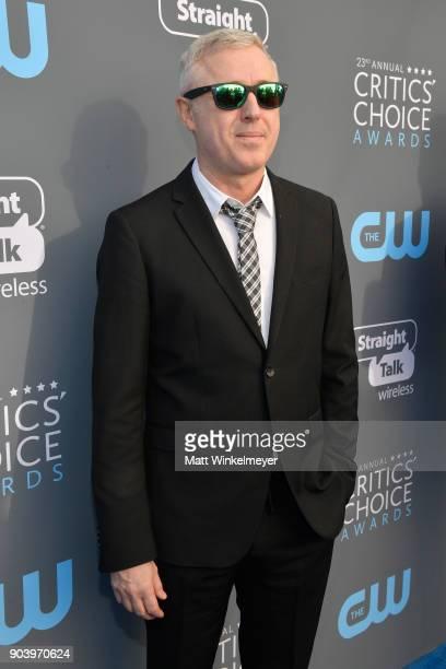 Director Robin Campillo attends The 23rd Annual Critics' Choice Awards at Barker Hangar on January 11 2018 in Santa Monica California