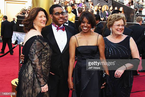 Director Robin Fryday Darren Armstrong Shirley Floyd and producer Abby Ginzberg arrive at the 84th Annual Academy Awards held at the Hollywood...
