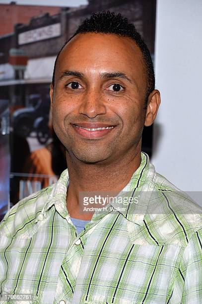 Director Rodney Evans attends the QA and screening of The Happy Sad at the IFC Center on August 16 2013 in New York City