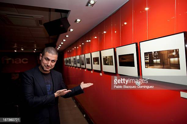 Director Rodrigo Cortes presents 'Red Lights' photography exhibition at FNAC on December 2 2012 in Madrid Spain