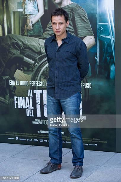 Director Rodrigo Grande attends 'Al Final Del Tunel' photocall at Warner Bros office on August 8 2016 in Madrid Spain