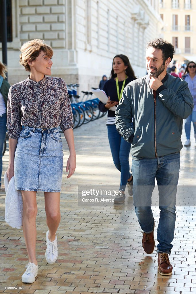 ESP: Celebrities Sighting In Malaga