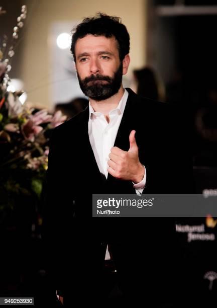 Director Rodrigo Sorogoyen attends 'Casi 40' premiere during the 21th Malaga Film Festival at the Cervantes Theater on April 20 2018 in Malaga Spain
