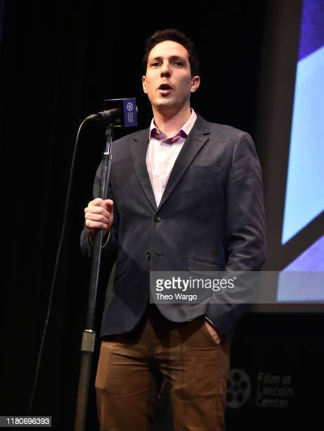 Director Roee Messinger attends the 57th New York Film Festival American Trial The Eric Garner Story at Walter Reade Theater on October 12 2019 in...