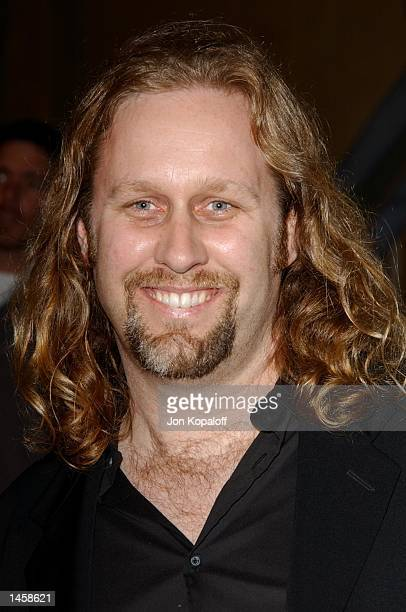 Director Roger Avary attends the premiere of The Rules Of Attraction at the Egyptian Theatre on October 3 2002 in Hollywood California