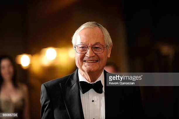 Director Roger Corman arrives at the Academy of Motion Picture Arts and Sciences' Inaugural Governors Awards held at the Grand Ballroom at Hollywood...