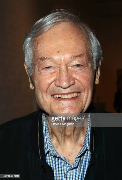 Director Roger Corman attends ProjectArt's inaugural Los Angeles benefit reception for My Kid Could Do That at The Underground Museum on April 6 2018...