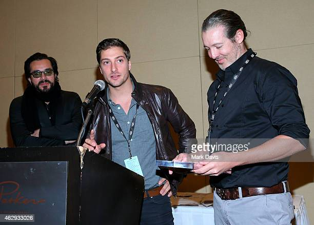 Director Roger Durling, actor Daniel Lissing, and director Michael Goode of 'The Answers' attend the 30th Santa Barbara International Film Festival...