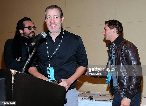 Director Roger Durling actor Daniel Lissing and director Michael Goode of 'The Answers' attend the 30th Santa Barbara International Film Festival...