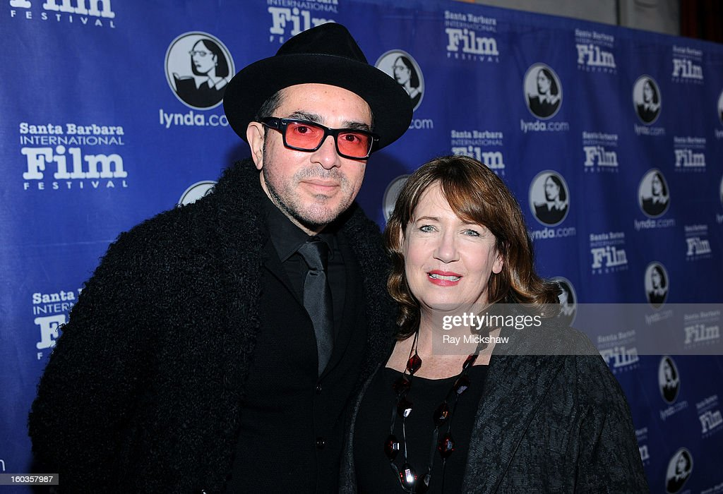 SBIFF director Roger Durling and actress Ann Dowd attends the Virtuosos Awards at the 28th Santa Barbara International Film Festival on January 29, 2013 in Santa Barbara, California.