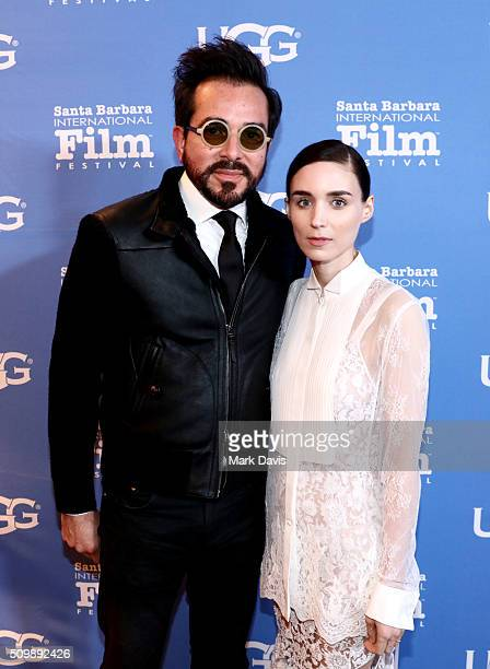 Director Roger Durling and Actress Rooney Mara attend the Cinema Vanguard Award at the Arlington Theater during the 31st Santa Barbara International...