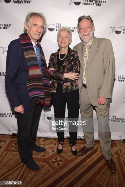 Director Roger Spottiswoode Catherine Westhoff and honoree Dr Malcolm Pike attend the Innovation Gala where Chemotherapy Foundation honors Actor...