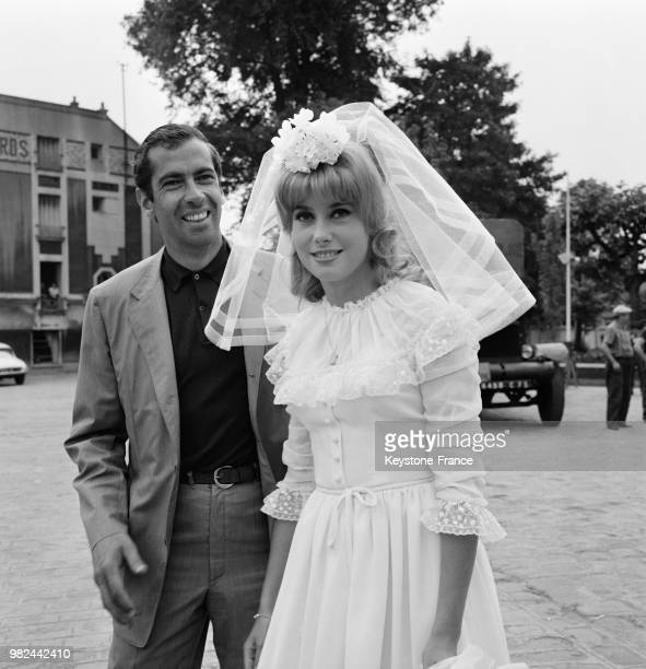 Director Roger Vadim And Catherine Deneuve On Set Of Movie Le Vice Et La Vertu Vice And Virtue Epinay Sur Seine July 30 1962