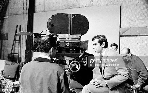 Director Roger Vadim on the Set of His Movie 'La Ronde', in France, in 1963 .