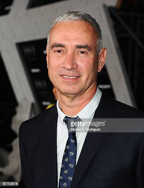 Director Roland Emmerich arrives at the premiere of Columbia Pictures' 2012 at the Regal Cinemas LA live on November 3 2009 in Los Angeles California