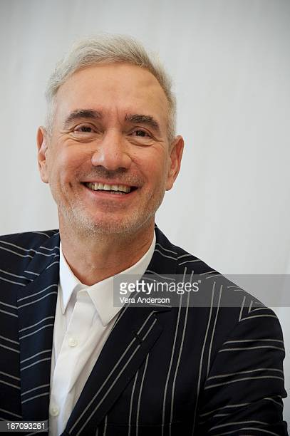 Director Roland Emmerich at the White House Down Press Junket on April 19 2013 in Cancun Mexico