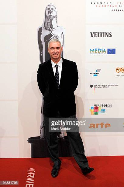 Director Roland Emmerich attends the 22nd European Film Awards at the Jahrhunderthalle on December 12 2009 in Bochum Germany