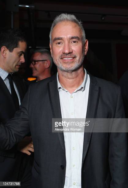 Director Roland Emmerich attends The Deep Blue Sea dinner hosted by GREY GOOSE Vodka at Soho House Pop Up Club during the 2011 Toronto International...
