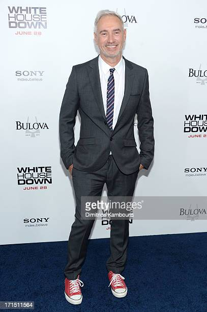 Director Roland Emmerich attends the White House Down New York premiere at Ziegfeld Theater on June 25 2013 in New York City