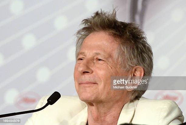 Director Roman Polansk attends the 'La Venus A La Fourrure' Press Conference during the 66th Annual Cannes Film Festival on May 25 2013 in Cannes...