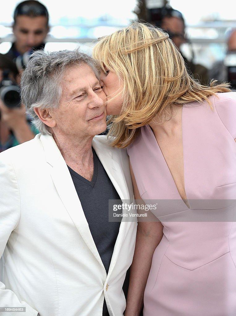 'La Venus A La Fourrure' Photocall - The 66th Annual Cannes Film Festival : News Photo