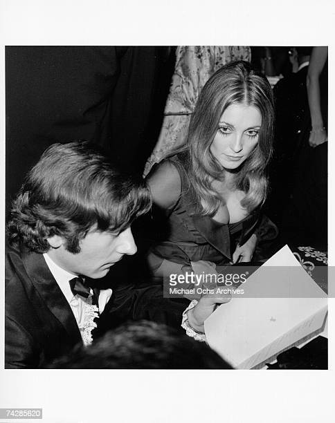 Director Roman Polanski and his wife actress Sharon Tate attend an event in 1968 in Los Angeles California