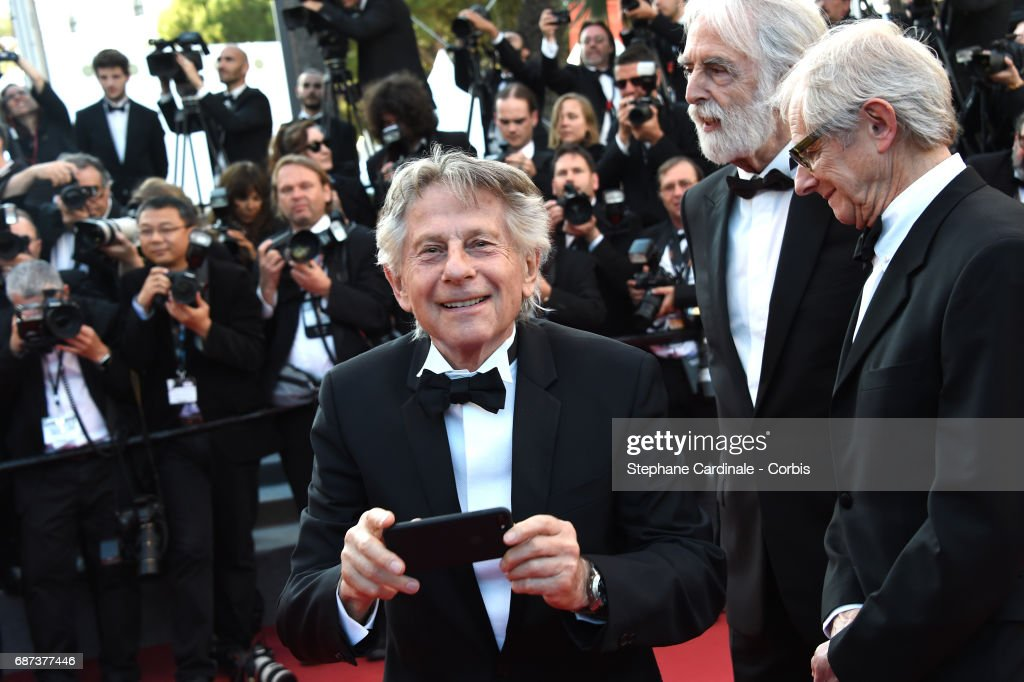 Director Roman Polanski attends the 70th Anniversary of the 70th annual Cannes Film Festival at Palais des Festivals on May 23, 2017 in Cannes, France.