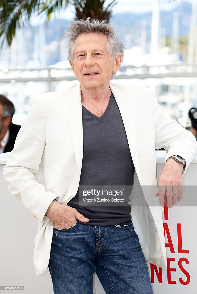 Director Roman Polanski attends the 'La Venus A La Fourrure' Photocall during the 66th Annual Cannes Film Festival on May 25, 2013 in Cannes, France.