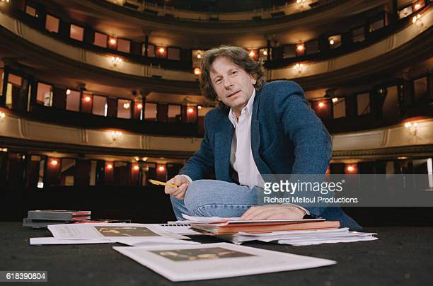 Director Roman Polanski is in the Theatre de la Porte StMartin in Paris He is producing the Terrence McNally play Master Class starring Fanny Ardant