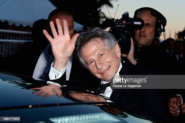 Director Roman Polanski leaves the 'La Venus A La Fourrure' premiere during The 66th Annual Cannes Film Festival at Theatre Lumiere on May 25 2013 in...