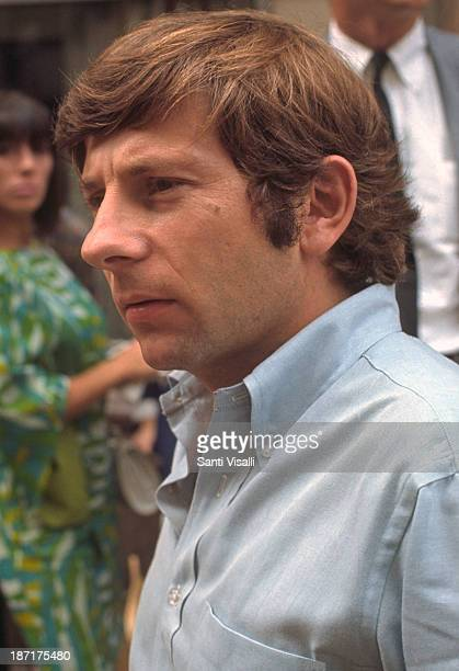 Director Roman Polanski on the set of Rosemary's Baby on August 151967 in New York New York