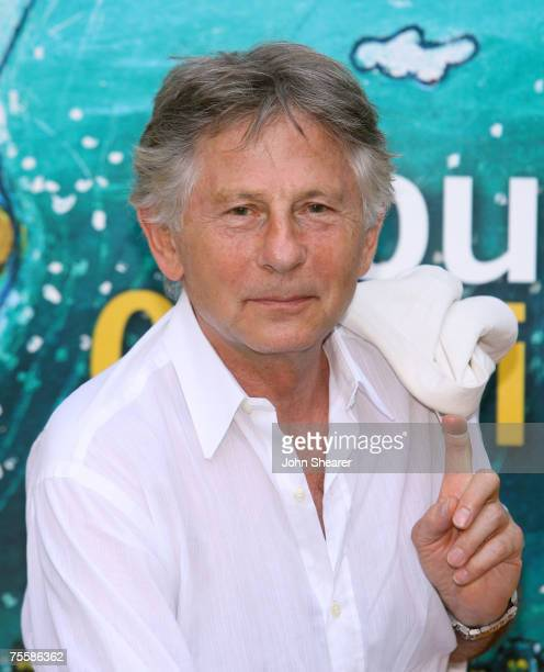 Director Roman Polanski poses at a photo call at Cinema Truffaut during the Giffoni Film Festival on July 21 2007 in Giffoni Italy