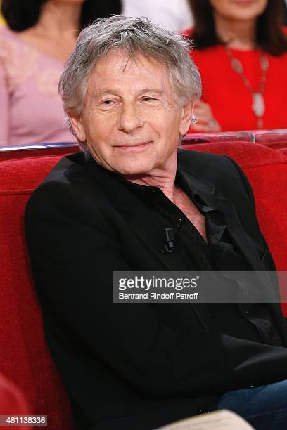Director Roman Polanski presents the Musical 'Le bal des Vampires' during the 'Vivement Dimanche' French TV Show at Pavillon Gabriel on January 7...