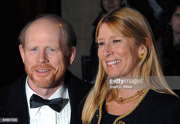 Director Ron Howard and Cheryl Alley Howard arrive at the Soho House / Grey Goose BAFTA after party for The Orange British Academy Film Awards 2009,...