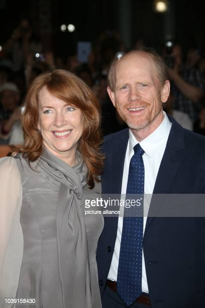Director Ron Howard and his wife Cheryl Howard attend the premiere of Rush during the 38th annual Toronto International Film Festival aka TIFF at Roy...