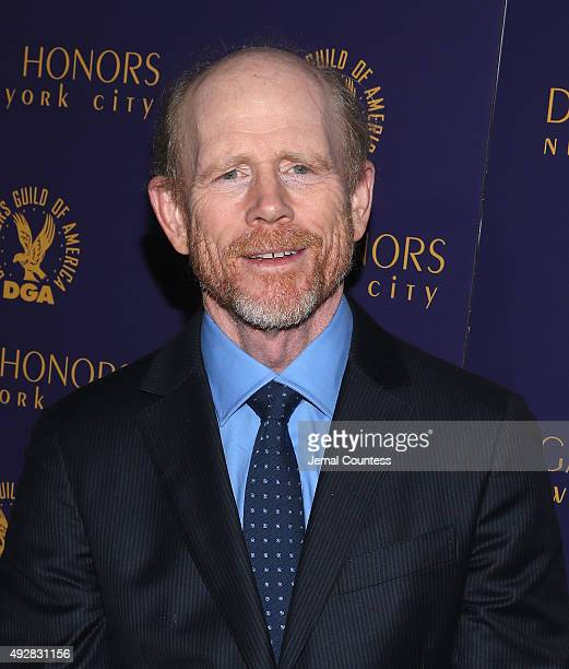 Director Ron Howard attends the DGA Honors 2015 Gala on October 15 2015 in New York City