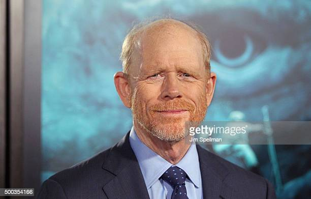 """Director Ron Howard attends the """"In The Heart Of The Sea"""" New York premiere at Frederick P. Rose Hall, Jazz at Lincoln Center on December 7, 2015 in..."""