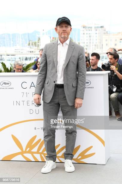 Director Ron Howard attends the photocall for Solo A Star Wars Story during the 71st annual Cannes Film Festival at Palais des Festivals on May 15...