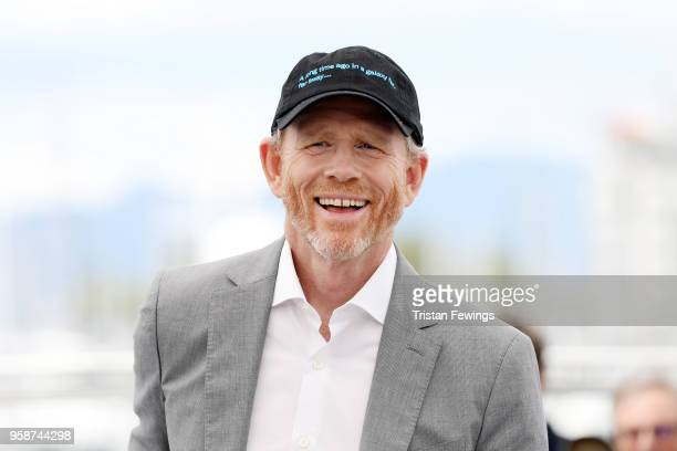 """Director Ron Howard attends the photocall for """"Solo: A Star Wars Story"""" during the 71st annual Cannes Film Festival at Palais des Festivals on May..."""