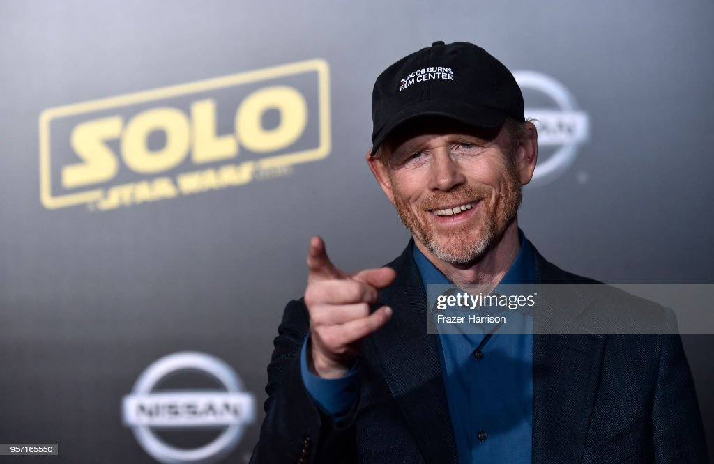 Director Ron Howard attends the Premiere Of Disney Pictures And Lucasfilm's 'Solo: A Star Wars Story' - Arrivals on May 10, 2018 in Los Angeles, California.
