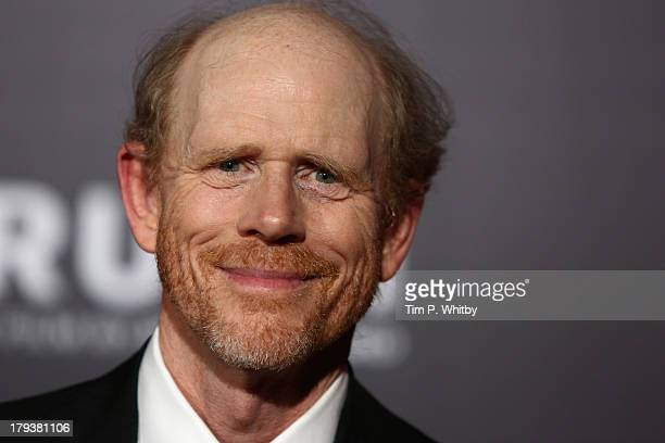 Director Ron Howard attends the Rush world premiere after party at One Marylebone on September 2 2013 in London England