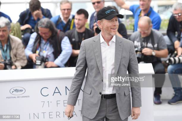 Director Ron Howard attends the 'Solo A Star Wars Story' official photocall at Palais des Festivals on May 15 2018 in Cannes France