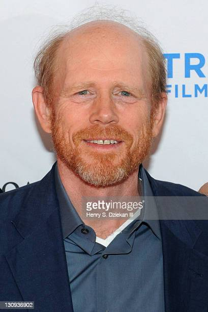 Director Ron Howard attends Tribeca Talks After the Movie 'A Beautiful Mind' during the 10th annual Tribeca Film Festival at SVA Theater on April 30...